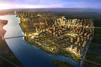 3d city planning 012 model