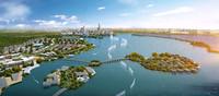 3d city planning 016 model