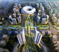 3d city planning 021 model