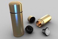 c4d thermos