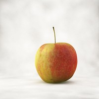 free c4d mode realistic apple