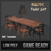 Rustik Table Set