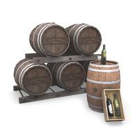 3dsmax winery pack wine glass