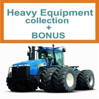 tractors heavy 3d max