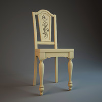 3d model chair hooker usa