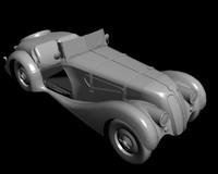 3ds max retro car