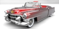 3d 1953 cadillac eldorado model