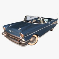 3d chevrolet bel air model