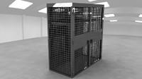 military locker 3d x