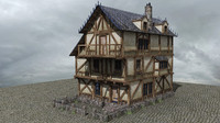 3d house builder v1 medieval fantasy