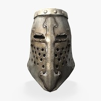 grand helmet 3d obj