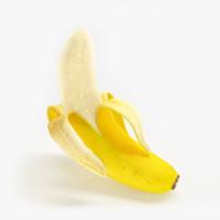 3d model banana realistic