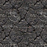 Cracked asphalt 2