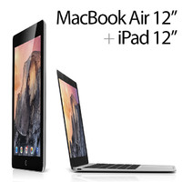 Apple Macbook Air 12 inch + i-Pad Pro 12 inch