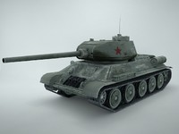 3ds max t-34 tank