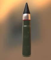 3d model bullet 9x39 pab9