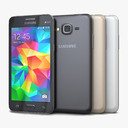 Samsung Galaxy Grand Prime 3D models