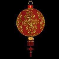 max chinese red lantern