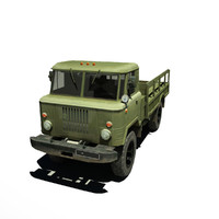 3d model of gaz 66