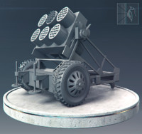 Rocket launcher vehicle