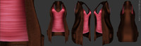 AngelRED Couture Tank & Cardigan