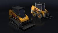 maya mini excavator loader