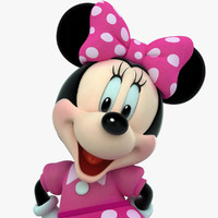 3d cartoons mickey mouse model