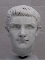 bust caligula 3d model