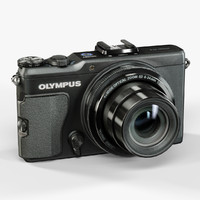 3d low-poly olympus xz-2 ihs