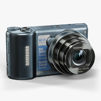 3d model low-poly samsung wb250f cobalt
