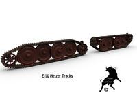 3d track e-10 hetzer model