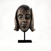 maya bronze statue