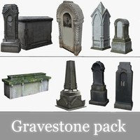 3ds pack tombstones medieval