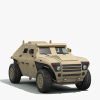 alpha armored vehicle 3ds
