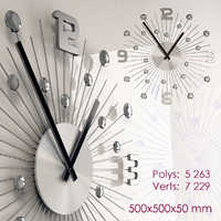 3d wall clocks