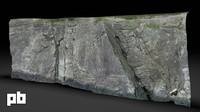 3d model rock surface