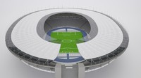 olympic stadium berlin 3d model
