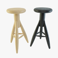 3ds max bar stools