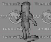 3d model cartoon toon chitauri avengers