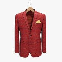 maya red jacket 2 coat hanger