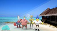 krabs characters ready 3d model