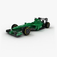 3d caterham ct05 model