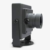3d model view camera hd 700tvl