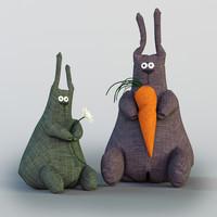 obj rabbit