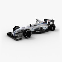 3d williams fw37