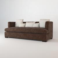 modern social scene sofas 3d max