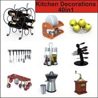 3d decorations kitchen