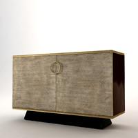 3d baker chest celestial model