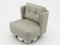 Alma armchair swivel (model_01)