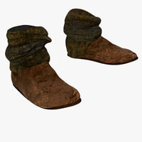 peasant half boots 3ds